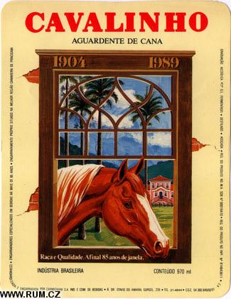 Rótulo da Caninha Cavalinho Carvalho: relíquia