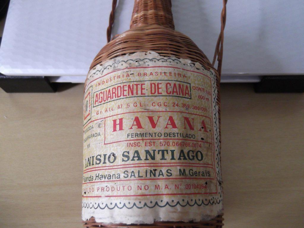 Cachaça Havana antiga