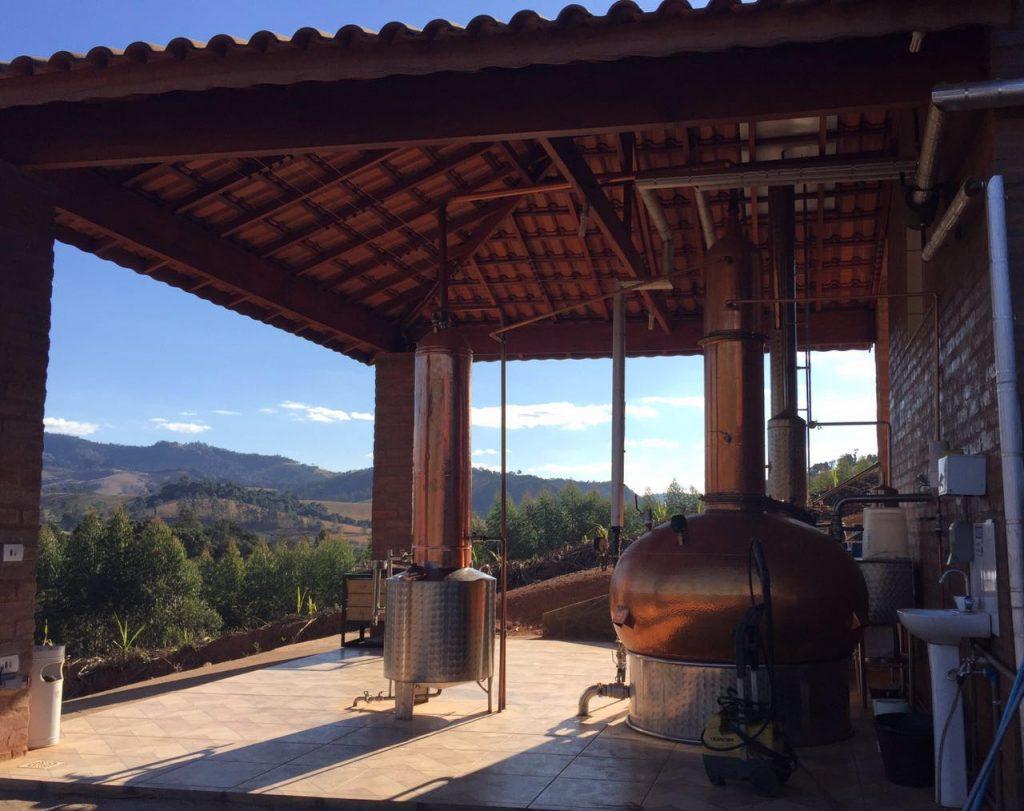 Alambique da Cachaça Quinta das Castanheiras