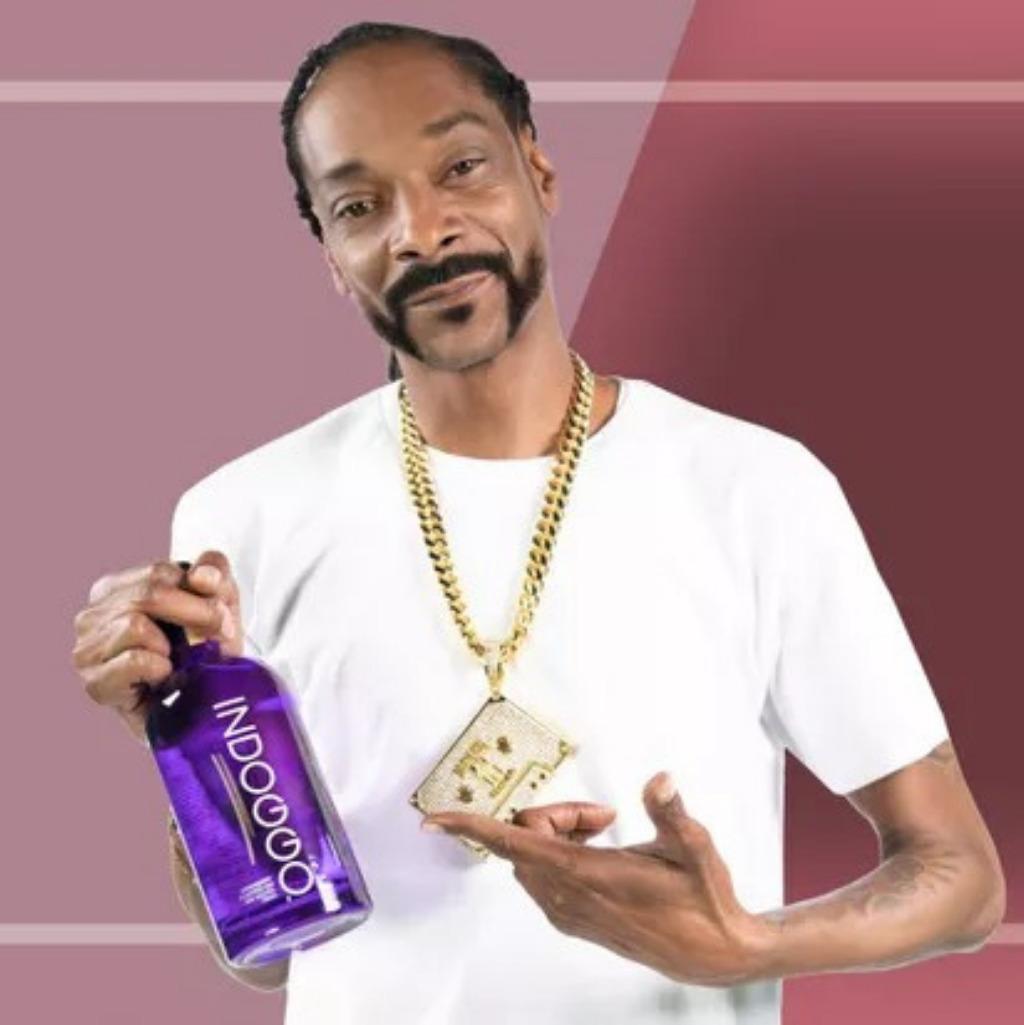 Snoop Doogs é uma das 10 celebridades que tem marcas de bebida destilada