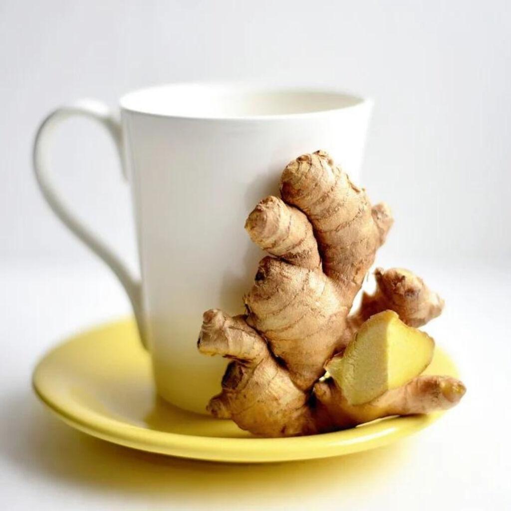 Chá de gengibre, um dos segredos de como venci a ressaca